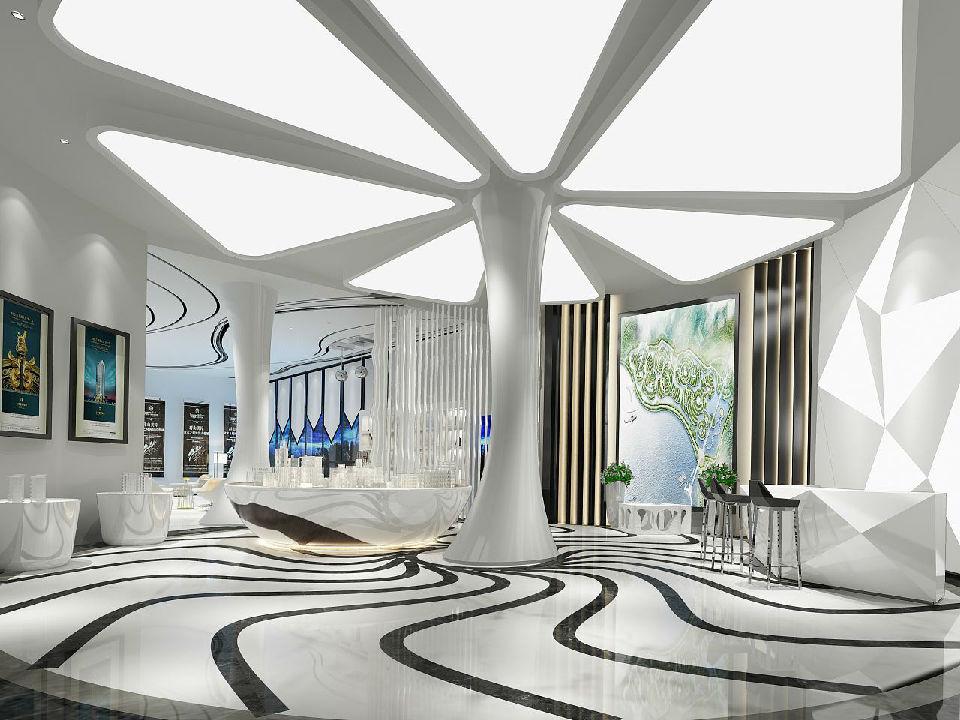 好的商业空间设计将决定整体店面空间效益SI设计
