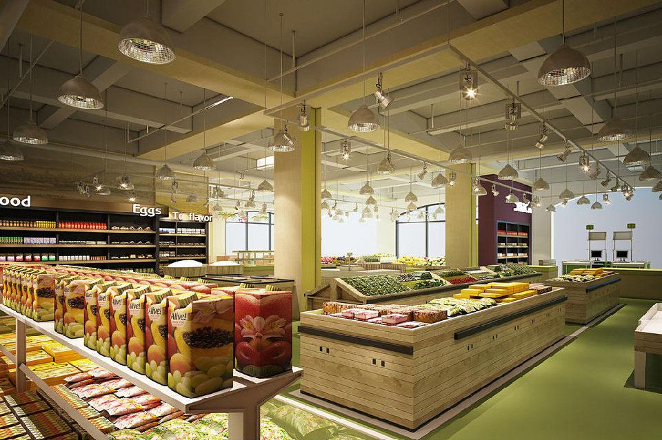 生鲜超市设计的要注意的细节,你了解多少SI设计