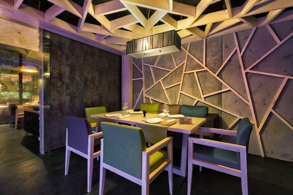 餐饮设计|简约创意餐厅设计|餐饮空间设计SI设计