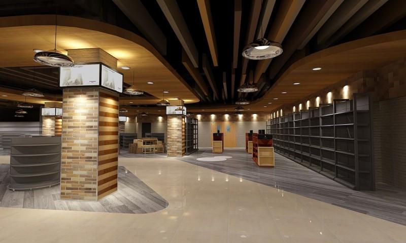商业空间设计简单介绍SI设计